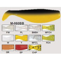 М-060BB Виброхвост RIPPER Manns 80mm