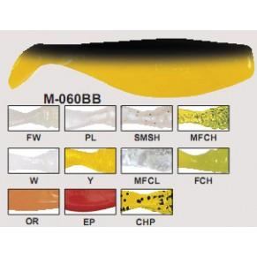 М-060BB Виброхвост RIPPER Manns 80mm - Фото