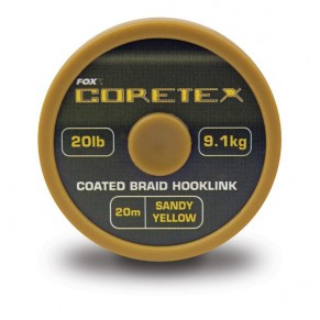 Coretex Gravelly brown 15lb поводковый материал Fox - Фото