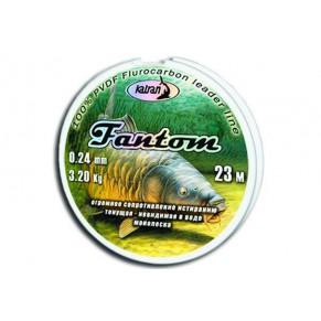 Леска флуорокарбон FANTOM  0.24 мм  23 м - Фото