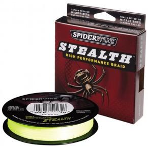 Stealth желтый 0.30мм 137м шнур Spider - Фото