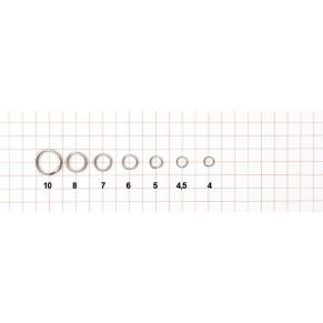 """04600805, Заводное колечко """"Split ring"""", коробка 10уп, уп-ка (10шт) - Фото"""