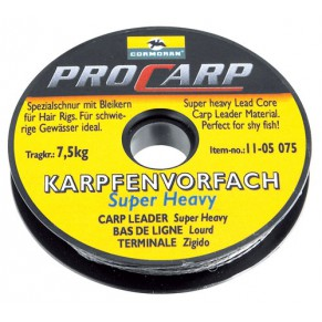 "Поводковый материал ""Super Heavy"" carp leader 15kg - Фото"