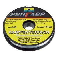 Поводковый материал из флуорокарбона Pro-Carp 20m 0,5mm 13,5kg