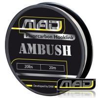 Ambush Fluorocarbon 20M 30lbs поводковыйматериал MAD