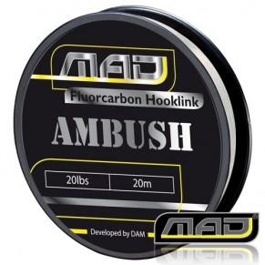 Ambush Fluorocarbon 20M 30lbs поводковыйматериал MAD - Фото