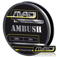 Ambush Fluorocarbon 20M 20lbs поводковыйматериал MAD