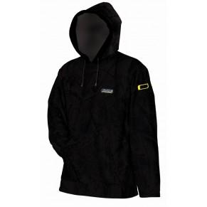 Пуловер MAD HOODED FLEECE - BLACK - L - Фото