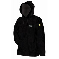 HOODED FLEECE - BLACK - XL MAD