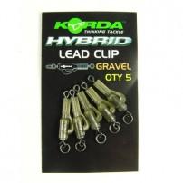 Hybrid Lead Clips Clay клипса безопасная оснащенная Korda