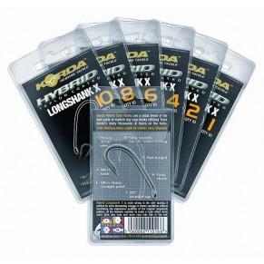 Long Shank X Size 2  крючки с тефлоновым покрытием Korda - Фото