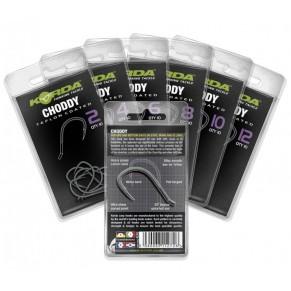 Choddy Hook Size 4 крючок с тефлоновым покрытием Korda - Фото