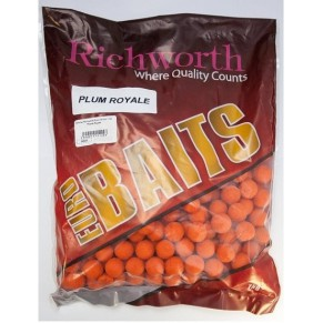 "43-20 ""PLUM ROYALE"" EURO Boilies 18mm 1kg Richworth - Фото"