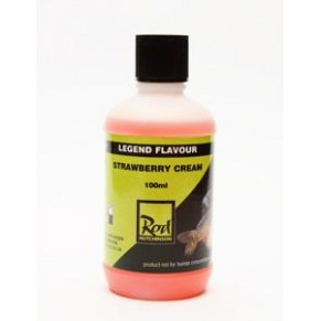 Legend Flavour Strawberry Cream 100ml аттрактант Rod Hutchinson - Фото