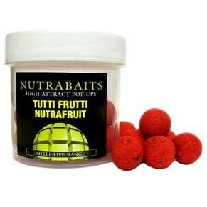 Tutti-Frutti Nutrafruit 15мм Pop-Up плавающие бойлы Nutrabaits - Фото