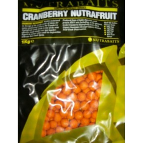 Cranberry Nutrafruit 15мм 400г бойлы Nutrabaits - Фото