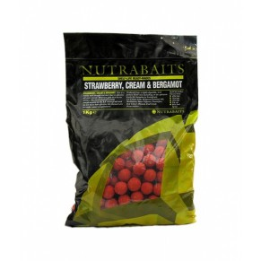 Strawberry, Cream & Bergamot, 20мм, 0.400кг, Nutrabaits - Фото