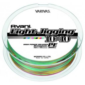 Light Jigging 10x10  (12Lb)-0,165 шнур Varivas - Фото