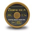 Coretex Silky black 20lb поводковый материал Fox