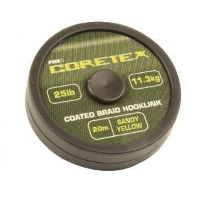 Coretex Sandy Yellow 25lb поводковы материал Fox - Фото