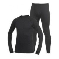 Polartec Power Dry Black XS блуза Fahrenheit