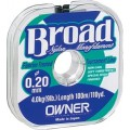 Леска Owner Broad 0,10мм - 25м