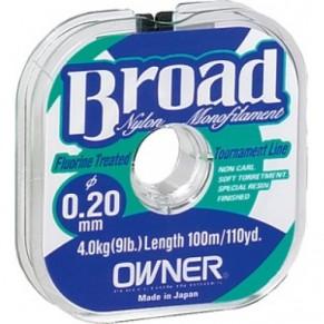 Broad 0,10мм 100m леска Owner - Фото