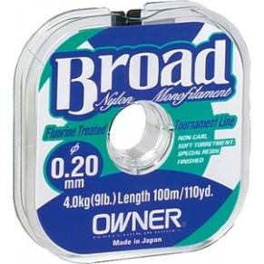 Леска Owner Broad 0,14мм-100m - Фото