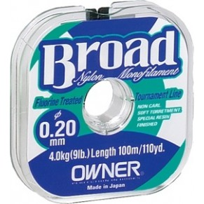 Леска Owner Broad 0,18мм-100m - Фото