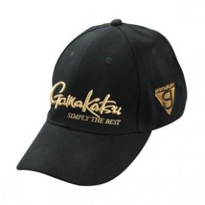 Кепка Gamakatsu Cap Black/Gold - Фото
