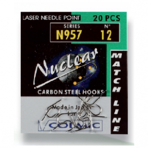 NUCLEAR B.957 N. 16-20  AMI X BS крючки Colmic - Фото