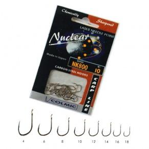NUCLEAR NK.800 N. 16-20 AMI X B крючки Colmic - Фото