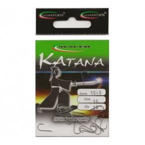 """Крючек """"Katana"""" Япония(20 шт/уп).- 1040 №10 Maver - Фото"""