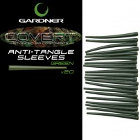 Covert Anti Tangle Sleeves C-Thru Green (20) коническая трубка Gardner