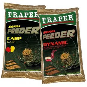 Feeder Dynamic прикормка 1кг Traper - Фото