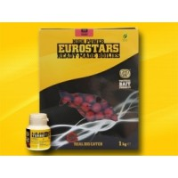 Eurostar Boilie 1kg+50ml Bait Dip-Strawberry Jam, SBS