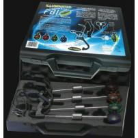 Box of 4 Illuminated FBI (Rouge, Orange, Bleu, Vert) - Version Delkim TXI EV Plus