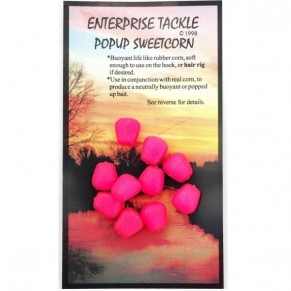 Pop Up Sweetcorn Red Strawberry Flavour насадка Enterprise Tackle - Фото