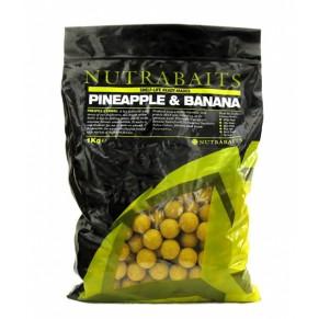 Pineapple & Banana 10мм 400г бойлы Nutrabaits - Фото