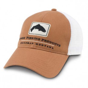 КЕПКА Trucker Hat Simms Orange - Фото