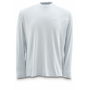 Solaflex Shirt LS Ash Grey L рубашка Simms - Фото