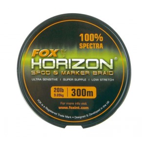 Horizon Spod & Marker Braid 20lb x 300 Fox - Фото