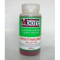 Trout/Halibut Pellet Oil 500ml масло CC Moore
