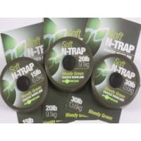 N-Trap 30lb Soft Hook link Silt поводковый материал Korda