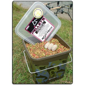 Camo Bucket Hi-Attract Carp Pellets 3kg - Фото