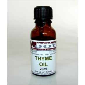 Thyme Oil 20ml масло CC Moore - Фото