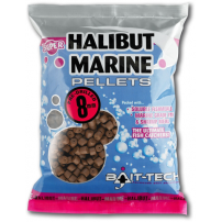 Halibut Marine Pre-Drilled Pellets 12.0mm 900g пеллетс Bait-Tech