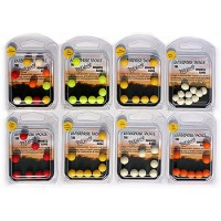 10mm boilie mixed colours unflavoured