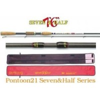 Seven & Half 766F 9.0-25.0gr 7-17lb Fast удилище Pontoon21