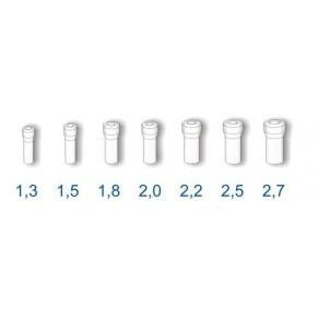 втулка д/резинки 3-0 Stonfo диам. 2,0 - Фото